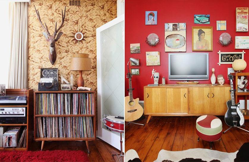 Existe a diferença entre o vintage e o retrô