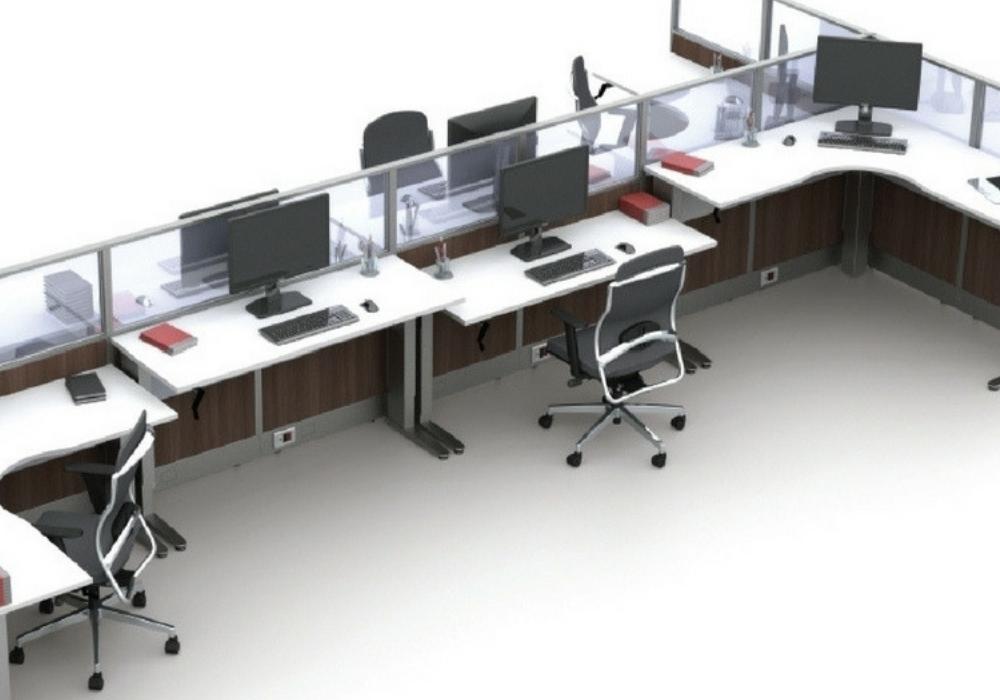 Ao considerar a ergonomia para arquitetura corporativa vale a pena apostar em mesas reguláveis, que possuem a comodidade de se adaptar conforme a necessidade e desejo do colaborador.