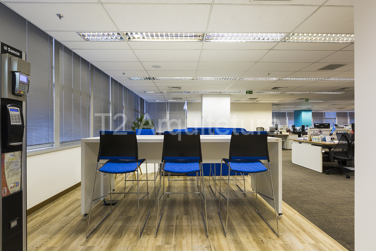 Em projetos de arquitetura corporativa dinâmica, os espaços de trabalho integrados são os mais usados, pois deixam as rotinas produtivas mais dinâmicas.