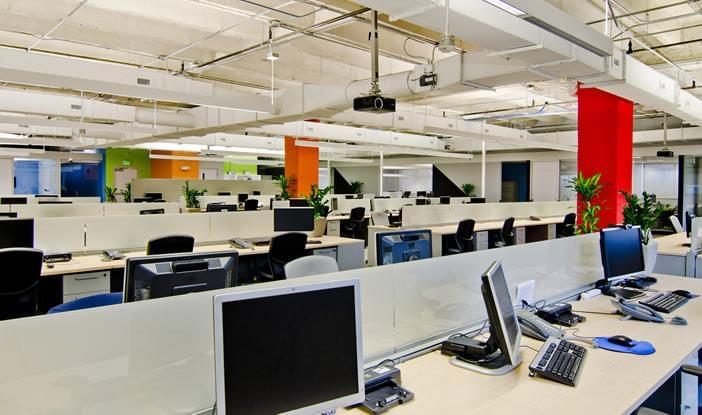 O layout da arquitetura corporativa influencia os funcionários e o desenvolvimento do trabalho