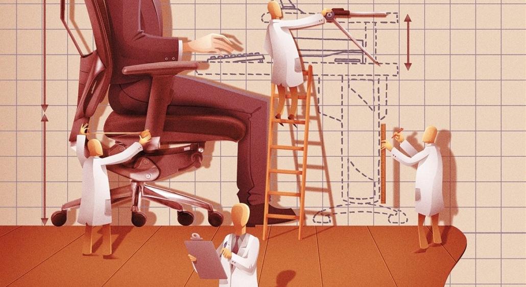 Ergonomia é fundamental para a melhor qualidade no trabalho